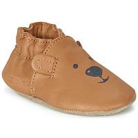 Buty Dziecko Kapcie niemowlęce Robeez SWEETY BEAR Camel