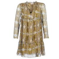 tekstylia Damskie Sukienki krótkie Moony Mood LONI Żółty