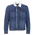 tekstylia Męskie Kurtki jeansowe Levi's