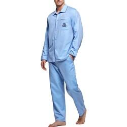 tekstylia Męskie Piżama / koszula nocna Impetus 1563309 789 Niebieski