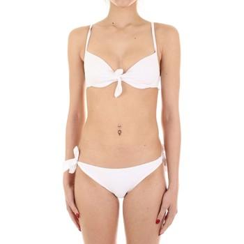 tekstylia Damskie kostium kąpielowy dwuczęściowy Joséphine Martin MARA Biały