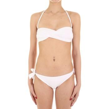 tekstylia Damskie Kostium kąpielowy dwuczęściowy Joséphine Martin CARAMELLA Biały