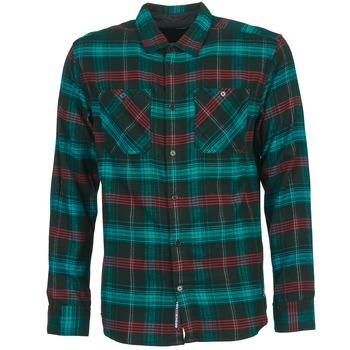 tekstylia Męskie Koszule z długim rękawem DC Shoes VIBRATION Czarny / Niebieski / Czerwony