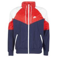 tekstylia Męskie Kurtki wiatrówki Nike M NSW HE WR JKT HD + Marine