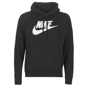tekstylia Męskie Bluzy Nike M NSW CLUB HOODIE PO BB GX Czarny