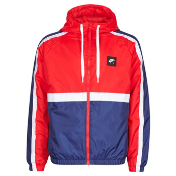 tekstylia Męskie Bluzy dresowe Nike M NSW NIKE AIR JKT SSNL WVN Czerwony / Marine