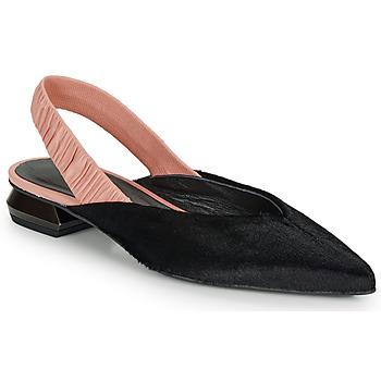 Buty Damskie Baleriny Heimstone SWEDES Czarny / Różowy