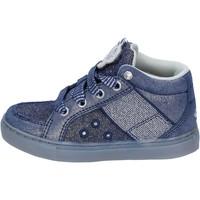 Buty Dziewczynka Trampki wysokie Lelli Kelly sneakers tessuto camoscio Blu