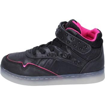 Buty Dziewczynka Trampki wysokie Lulu BR353 Czarny
