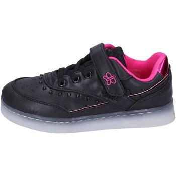 Buty Dziewczynka Trampki niskie Lulu BR354 Czarny