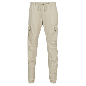 tekstylia Męskie Spodnie bojówki Urban Classics CARGO JOGGING PANTS Beżowy