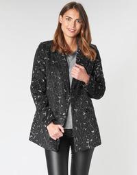 tekstylia Damskie Płaszcze Vero Moda VMCOCOLEOPARD Szary