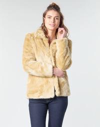 tekstylia Damskie Płaszcze Vero Moda VMMINK Beżowy