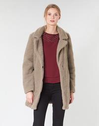 tekstylia Damskie Płaszcze Vero Moda VMZAPPA Beżowy