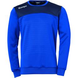 tekstylia Bluzy Kempa Sweatshirt  Emotion 2.0 bleu/jaune