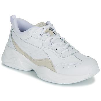 Buty Damskie Trampki niskie Puma CILIA LUX Biały