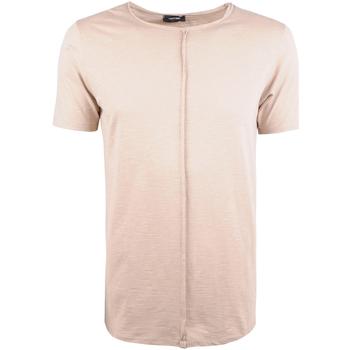tekstylia Męskie T-shirty z krótkim rękawem Xagon Man  Beżowy
