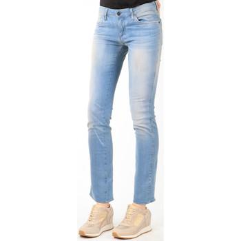 tekstylia Damskie Jeansy straight leg Wrangler Jeansy  Vintage Dusk 258ZW16M