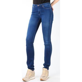 tekstylia Damskie Jeansy slim fit Wrangler Jeansy  Cold Sky W26E8481V