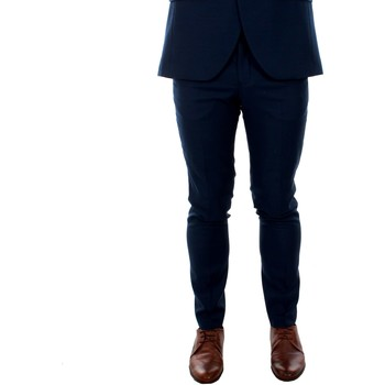 tekstylia Męskie Spodnie od garnituru  Jack & Jones 12141112 JPRSOLARIS TROUSER NOOS DARK NAVY Azul marino