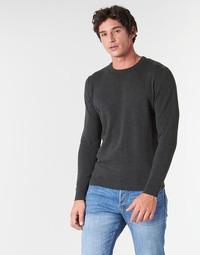 tekstylia Męskie Swetry Jack & Jones JJEBASIC Szary
