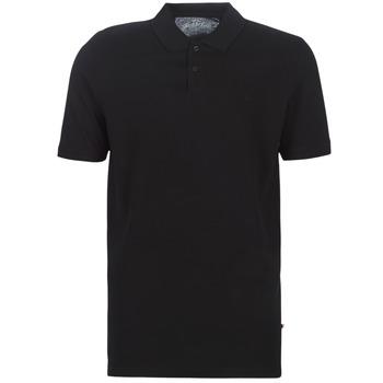 tekstylia Męskie Koszulki polo z krótkim rękawem Jack & Jones JJEBASIC Czarny