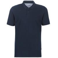 tekstylia Męskie Koszulki polo z krótkim rękawem Jack & Jones JJEBASIC Marine