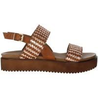 Buty Damskie Sandały Donna Style 19-537 'Brązowy skóra