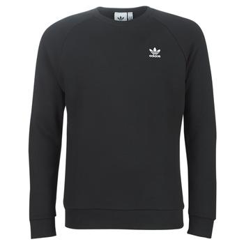 tekstylia Męskie Bluzy adidas Originals ESSENTIAL CREW Czarny