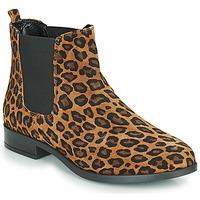 Buty Damskie Buty za kostkę André ELEGANTE Leopard