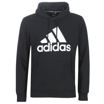 tekstylia Męskie Bluzy adidas Performance MH BOS PO FT Czarny