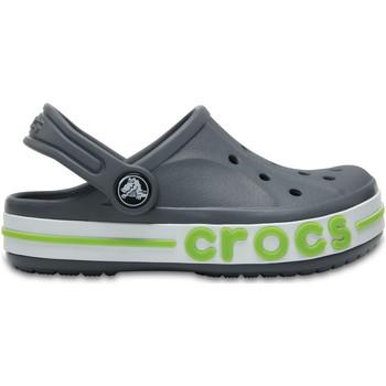 Buty Dziecko Chodaki Crocs™ Crocs™ Bayaband Clog Kid's Charcoal