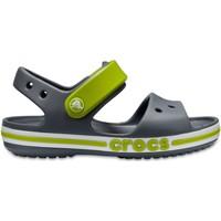 Buty Dziecko Sandały Crocs™ Crocs™ Bayaband Sandal Kid's Charcoal