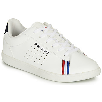 Buty Chłopiec Trampki niskie Le Coq Sportif COURTSTAR GS SPORT BBR Biały