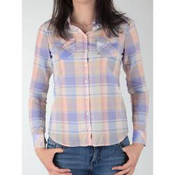 tekstylia Damskie Koszule Wrangler Koszula  Western Shirt W5045BNSF Wielokolorowy