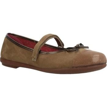 Buty Dziewczynka Baleriny Duvic 6225D Brązowy