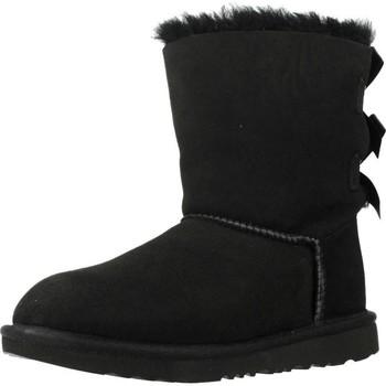 Buty Dziewczynka Śniegowce UGG BAILEY BOW II Czarny