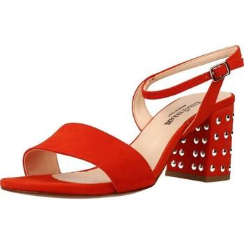 Buty Damskie Sandały Eliza Ferrari 170 60 Pomarańczowy