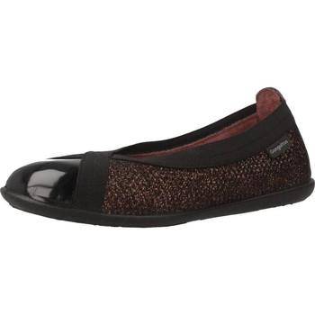 Buty Dziewczynka Baleriny Conguitos II126543 Brązowy