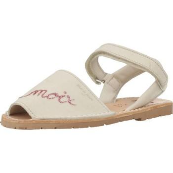 Buty Dziewczynka Sandały Ria 20090 Beżowy
