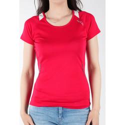 tekstylia Damskie T-shirty z krótkim rękawem Dare 2b T-shirt  Acquire T DWT080-48S różowy