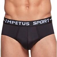 Bielizna Męskie Slipy Impetus Sport 0036B87 020 Czarny