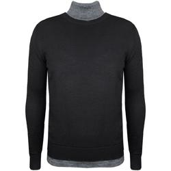 tekstylia Męskie Swetry Xagon Man  Czarny