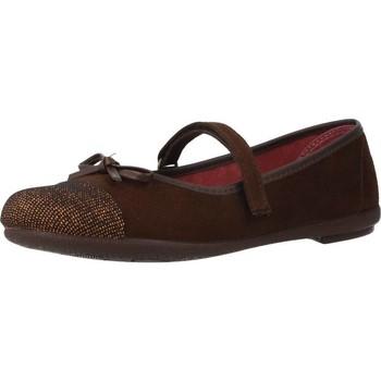 Buty Dziewczynka Derby & Richelieu Duvic 6229 Brązowy