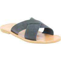 Buty Męskie Klapki Attica Sandals ORION NUBUCK BLACK Czarny
