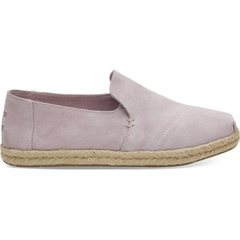 Buty Damskie Espadryle Toms Suede Women's Deconstructed Alpargata Lilac