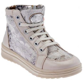 Buty Dziewczynka Trampki wysokie Laura Biagiotti  Biały