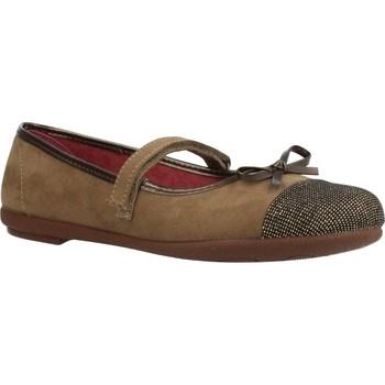 Buty Dziewczynka Baleriny Duvic 6229 Brązowy