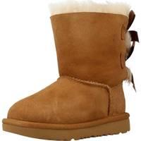 Buty Dziewczynka Śniegowce UGG BAILEY BOW II Brązowy