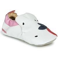 Buty Dziewczynka Obuwie domowe Catimini CIRINI Biały / Różowy